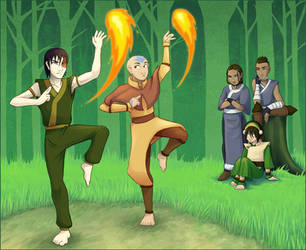 Firebending Lessons by AliWildgoose