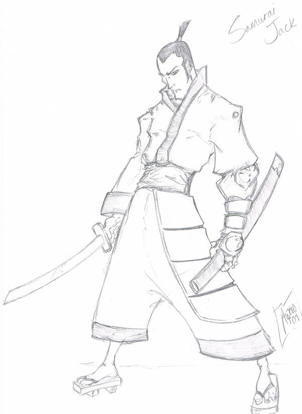 Samurai jack by ninjamouf on deviantart