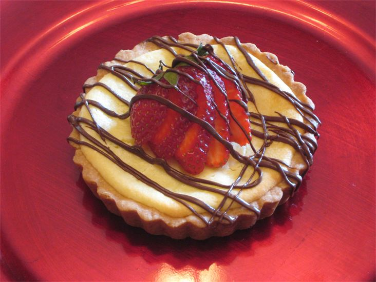 Cheesecake Tart by Deathbypuddle