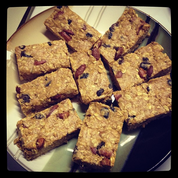Heathy Granola Bars by Deathbypuddle