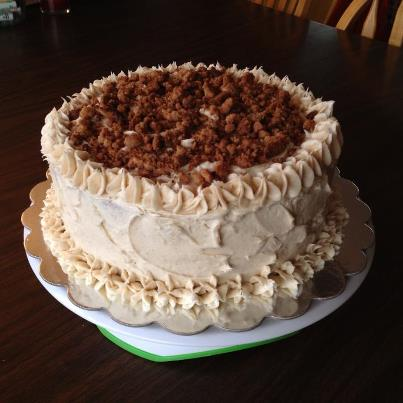 Streusel Cake by Deathbypuddle