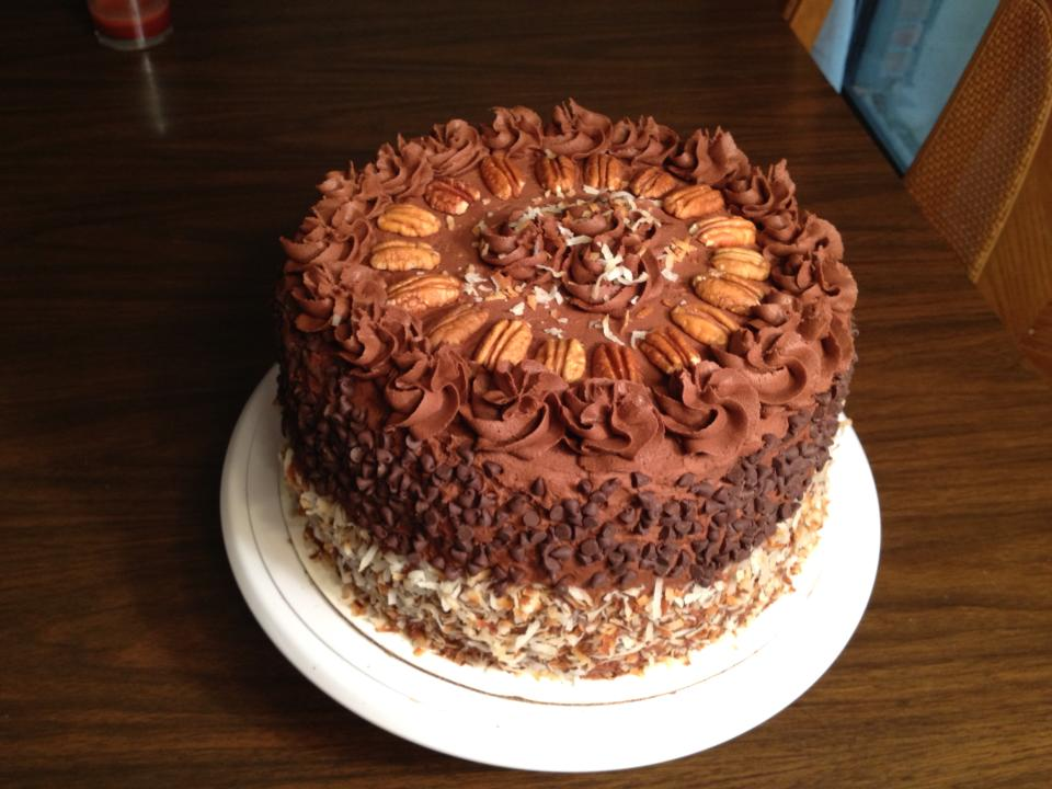 German Chocolate Cake by Deathbypuddle