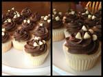 Peanut Creme Cupcakes