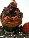 The Berry Chocolate Fantasy Cupcake