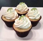 Vanilla Key Lime Cupcake