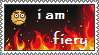 i am fiery !! [FREE STAMP] by Hungry-aloo
