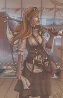 Steampunk Adventure by Azurega