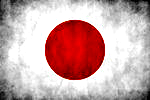 Japan flag by Ceyism