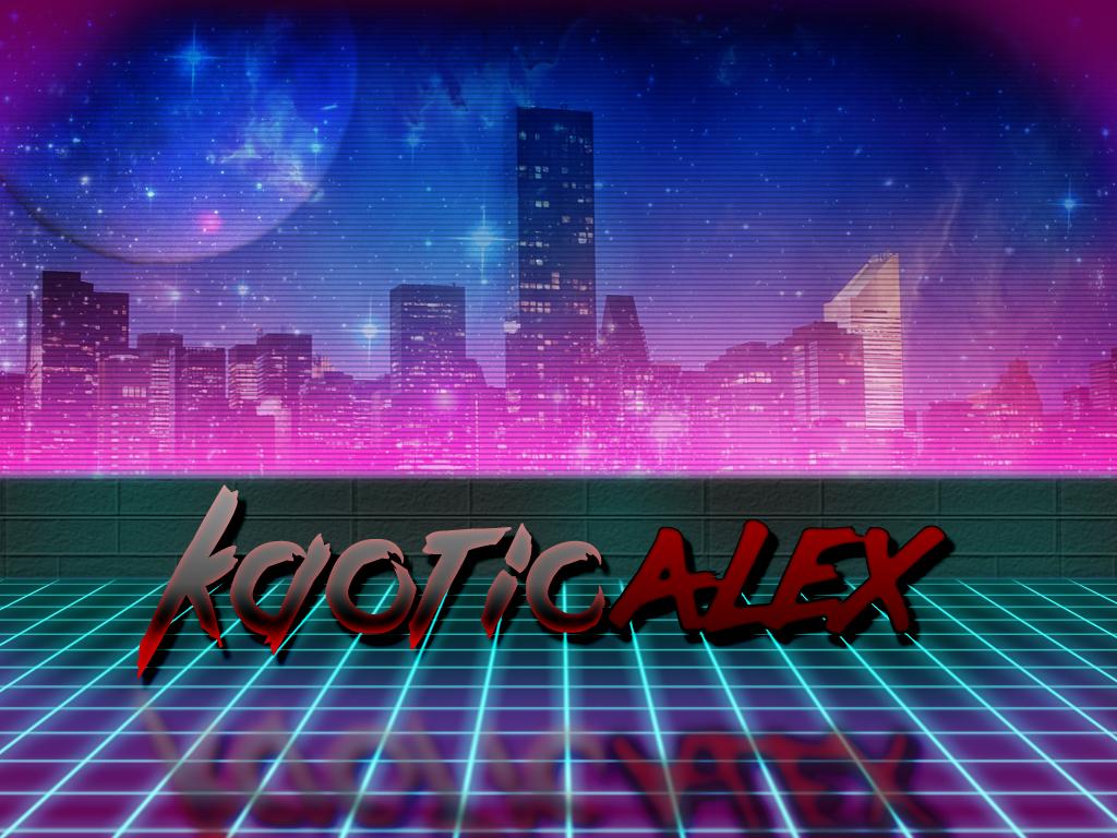 Retro 80's Neon Future Banner by KaoticAlex on DeviantArt