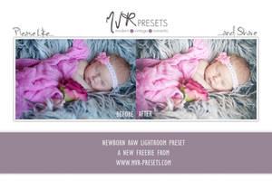 Newborn RAW Lightroom Presets by Nellkas-art