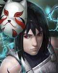 Anbu Sasuke!!!!! by Elekitelik