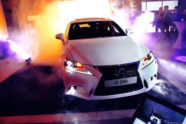 Lexus IS F Sport - first presentation in Poland by blekcziken