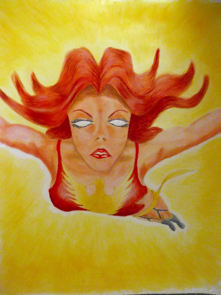 Dark Phoenix by emmerge