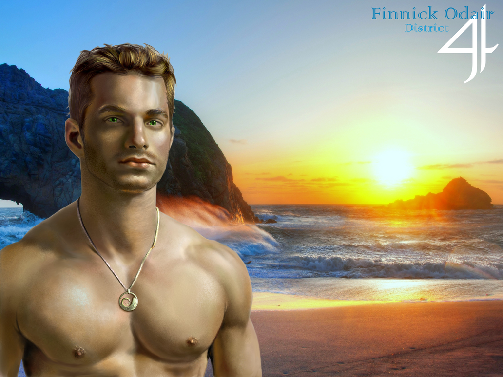 Finnick Odair by Axxaxxin