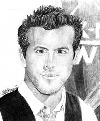 Ryan Reynolds by Axxaxxin