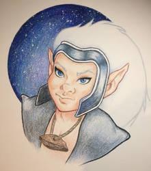 Fan Art - Skywise from ElfQuest