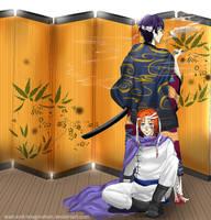 Gintama: Kamui and Takasugi