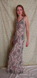 Paisley Dress 1 by intergalacticstock