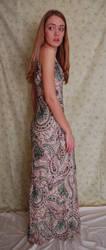 Paisley Dress 2 by intergalacticstock
