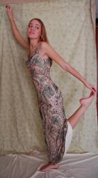 Paisley Dress 5 by intergalacticstock