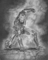 Iron Man by joannesotoart