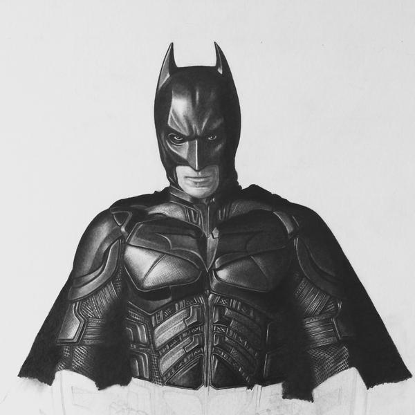 Dark Knight II- WIP 3 by joannewhiteart