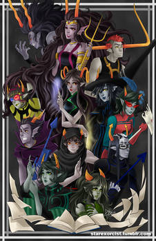HOMESTUCK - Thee Who Came Before Us