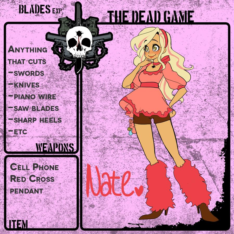 TDG - Natasha 'Nate' Valentine by starexorcist