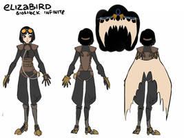 Bioshock Infinite: Songbird Elizabeth by starexorcist