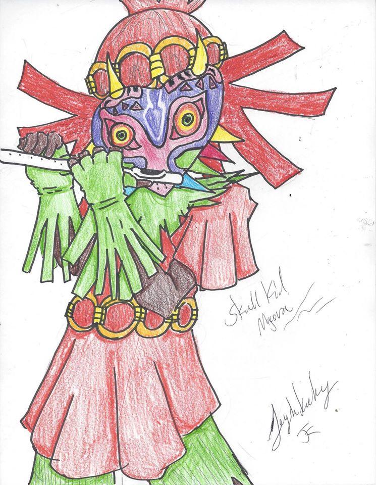 Skull kid by zetra3