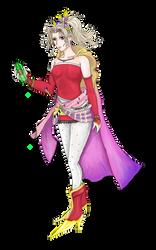 Terra Branford (Final Fantasy Dissida Design)