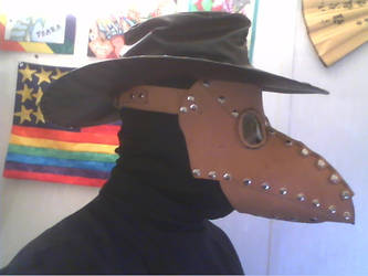 Plague Doctor with hat by Tathoj