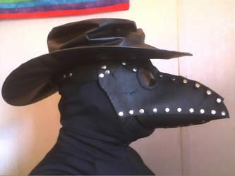 Black Plague Doctor Mask by Tathoj