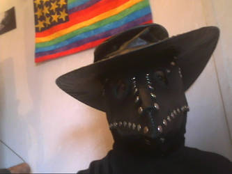 Black Plague Doctor with hat by Tathoj