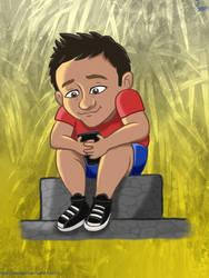 Mateo in Disney Style by PauliGaVi