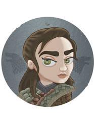 Arya Stark Season 8 by PauliGaVi