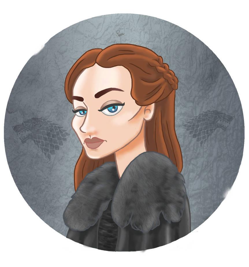 Sansa by PauliGaVi