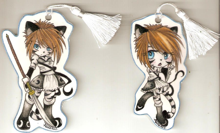 Tora Bookmarker Set by Aliehs