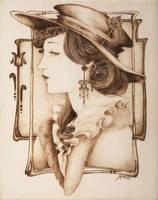Steam Punk Lady by Aliehs
