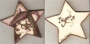 Sorina Wooden Pendant by Aliehs