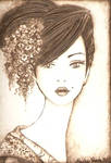 Geisha Trading Card