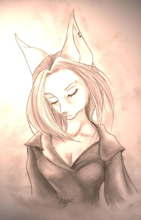 Random Anthro Girl by Aliehs