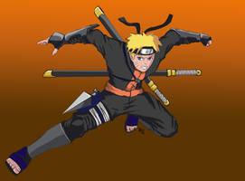 Naruto by Amenoosa