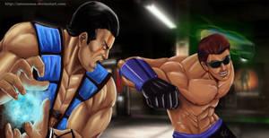 Commission: Sub-Zero  vs Johnny Cage