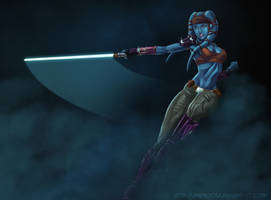 Aayla Secura by Amenoosa
