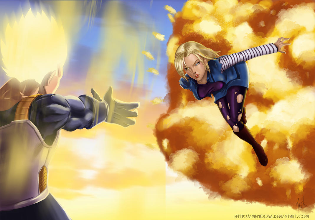 dragon ball z android 18 wallpapers