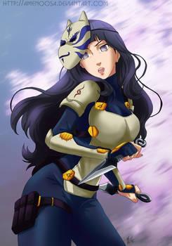 Naruto Anbu girls - Hinata