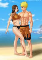 Commission: Naruto x Ameno by Amenoosa