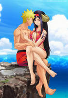 Commission: Naruto x Seilah by Amenoosa