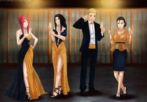 Commission: Awkward moment by Amenoosa